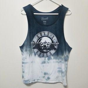 ☀️ Bravado | Guns N Roses Graphic Tank Tie Dye M